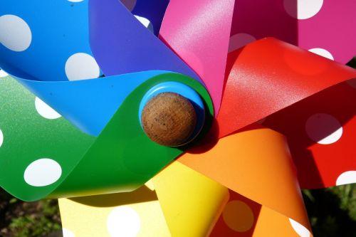 pinwheel toys colorful