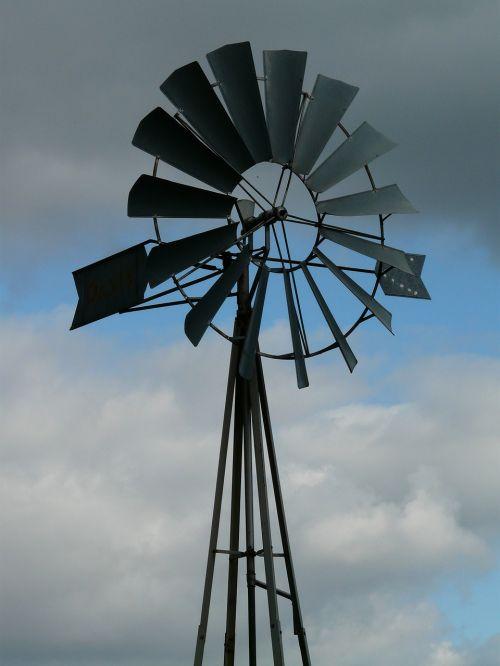 pinwheel wind wind power plant