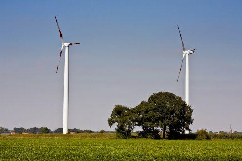 pinwheel wind power energy
