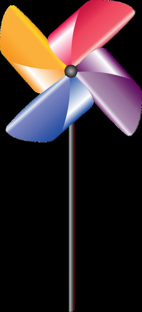 pinwheel spinner festival
