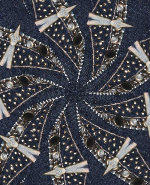 Pinwheel Abstract Background