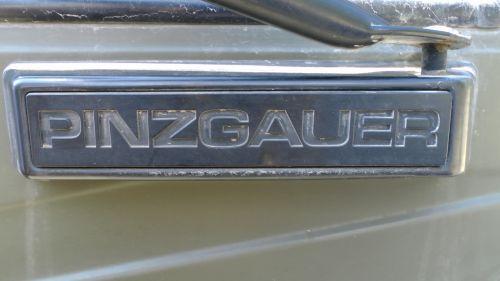 Pinzgauer Badge