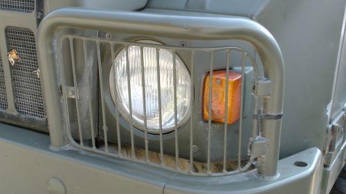 Pinzgauer Headlight Shield