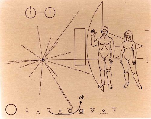 pioneer badge pioneer 10 space probe