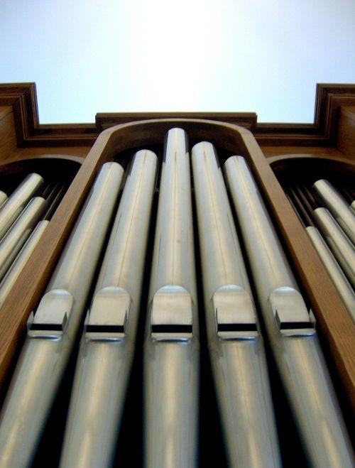 pipe organ pipes organ