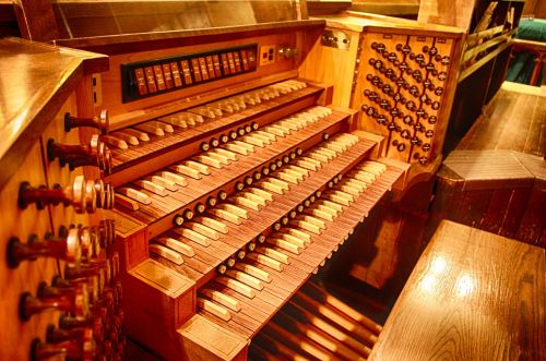 pipe organ organ church organ