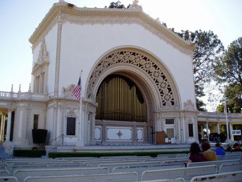 Pipe Organ Balboa Park