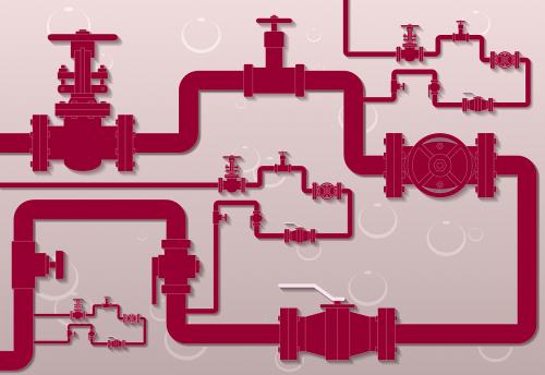 pipeline gate valve flowmeter