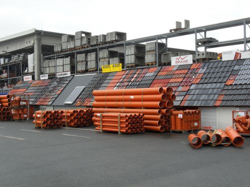pipes building material stock