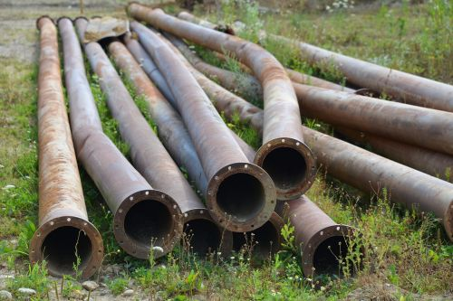 pipes metal stainless