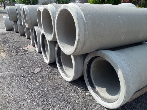 pipes concrete pipes construction material