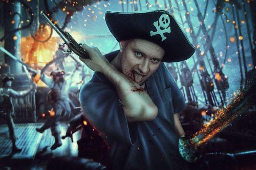 pirate ship blood