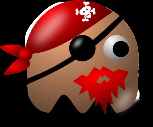 pirate pacman pac-man