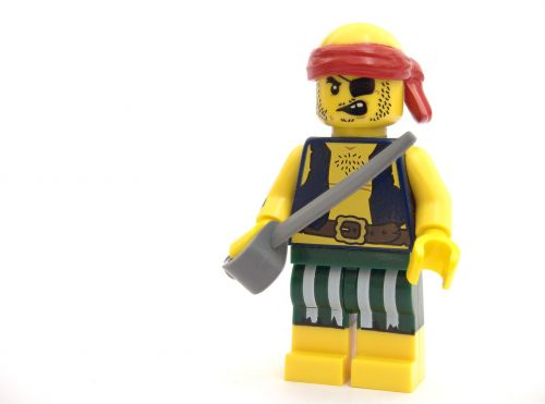 pirate lego robber