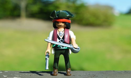 pirate toy sword