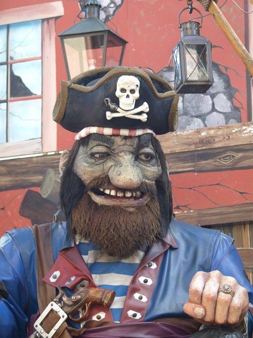pirate  carousel  ride