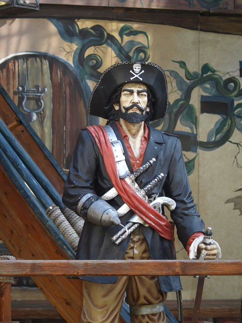 pirate  fair  ghost train