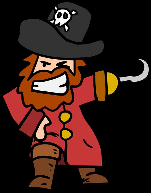 pirate  corsair  captain