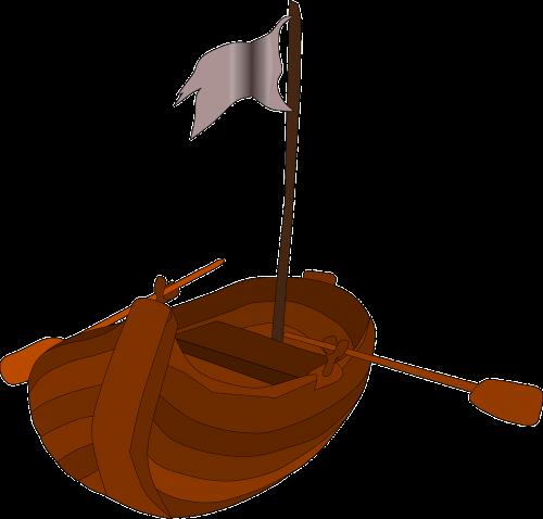 pirate rowboat pirates rowboat