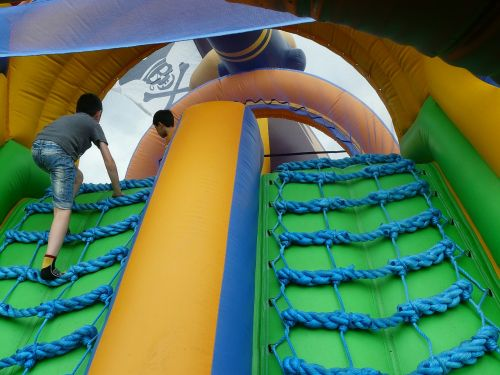 pirate ship bouncy castle inflatable