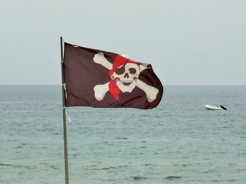 pirates flag skull and crossbones
