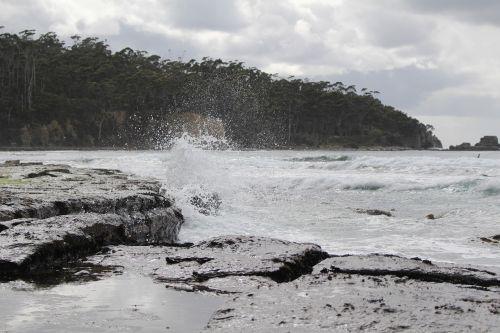 pirates bay beach hobart australia