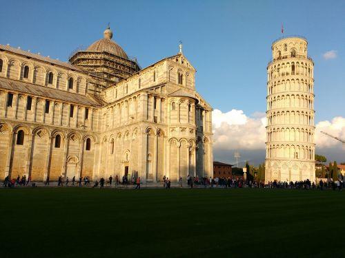 pisa tower of pisa tuscany