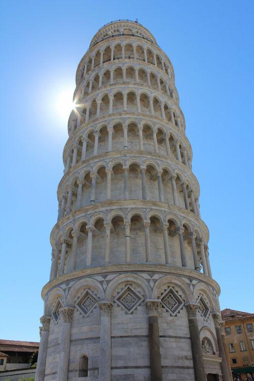 pisa tower of pisa italy