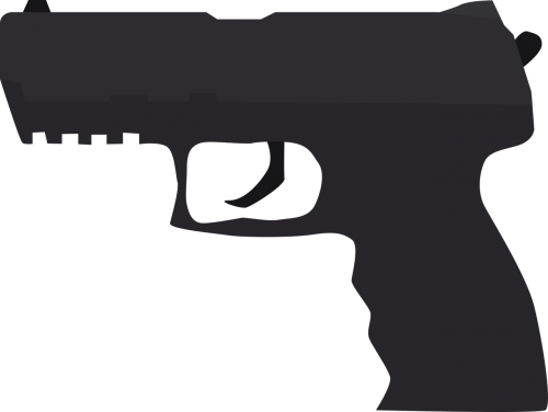pistol crime weapon