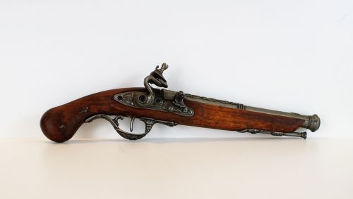 pistol muzzleloader weapon