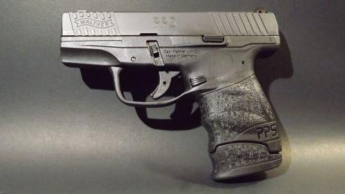 pistol semi-auto handgun