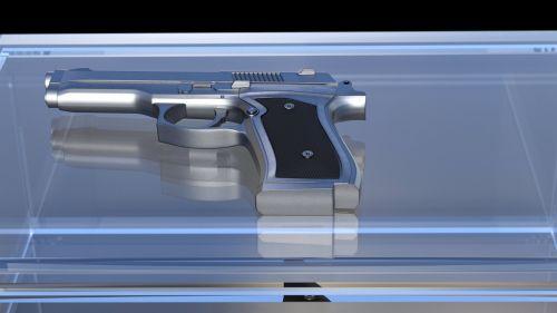pistol weapon hand gun
