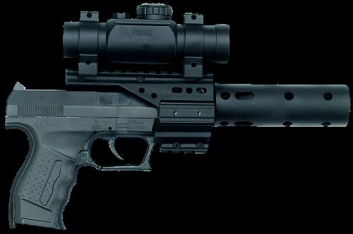 pistol revolver hand gun