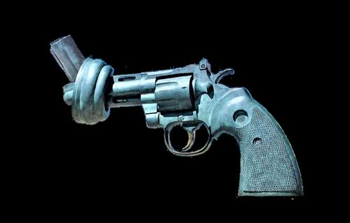 pistol  knot  artwork