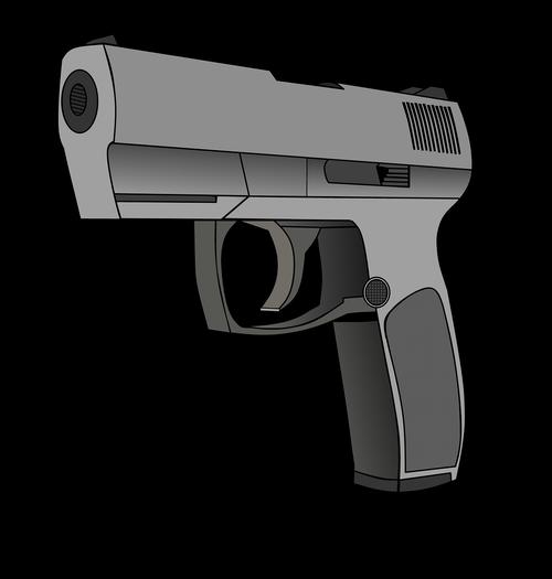 pistol  weapon  automatic gun