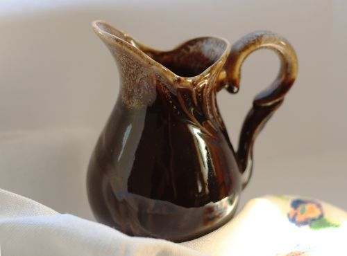 pitcher crockery cup