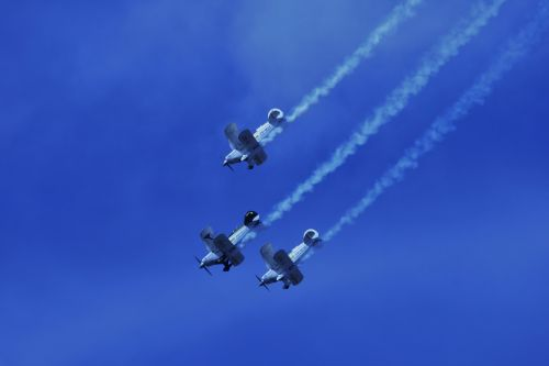 Pitts Special In Formation