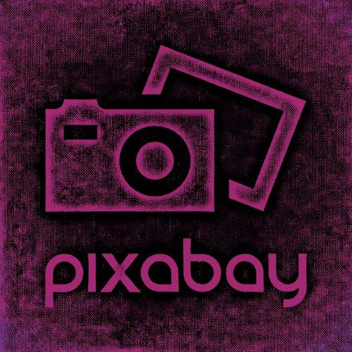 pixabay logo lettering