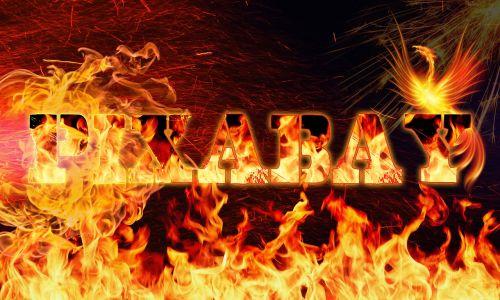 pixabay logo fire