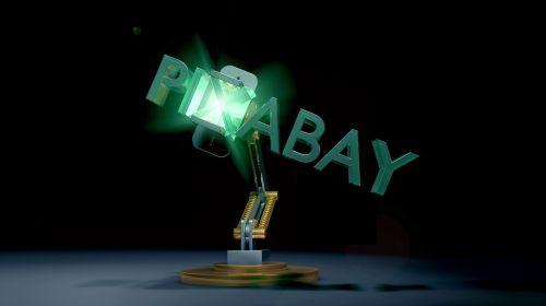 pixabay animation robot arm