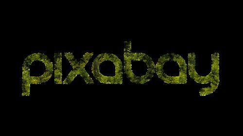 pixabay logo grass