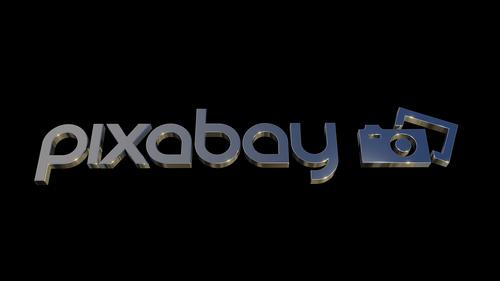 pixabay  logo  design