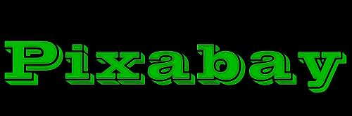 pixabay green logo