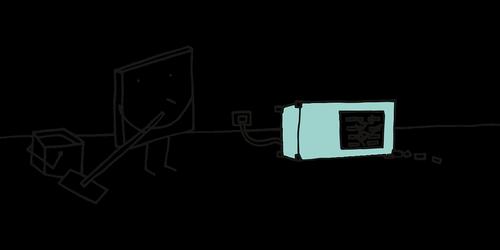 pixel cells  server  server problem
