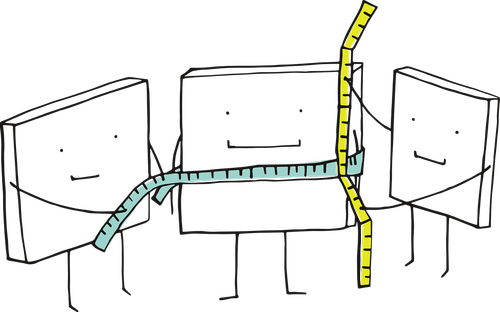 pixel cells  evualuation  measure