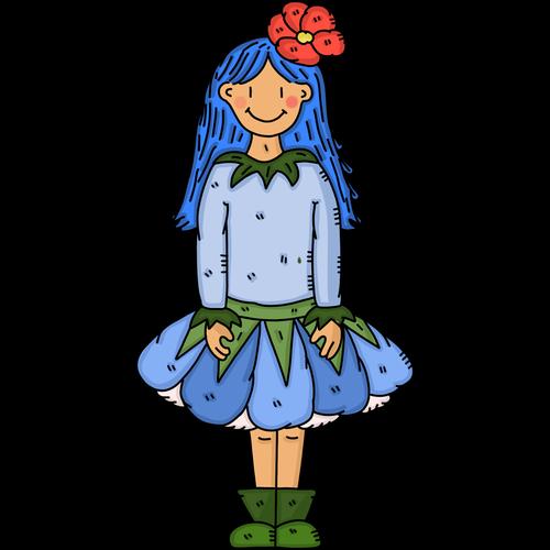 pixie  fairy  flower fairy
