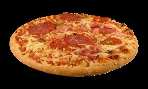 pizza salami italian