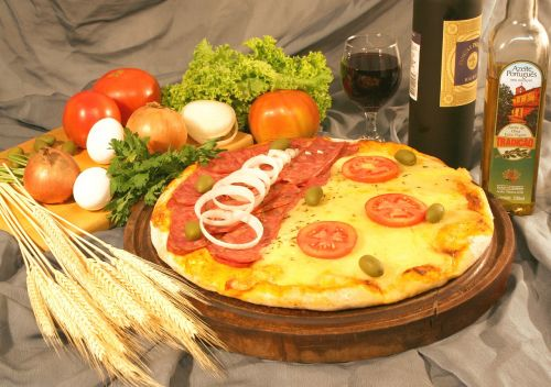 pizza vegetables seasoning