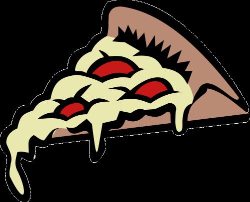 pizza slice food