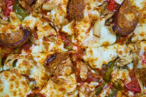 pizza macro cheese
